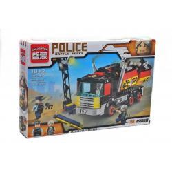 Конструктор BRICK, полицейская машина, 292 детали