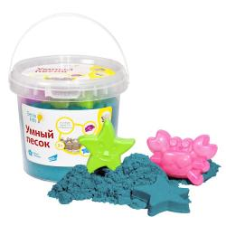 Умный песок 1 кг , Genio Kids, голубой