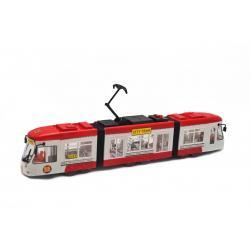 Городской трамвай, Big Motors, красный