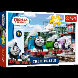 Пазли Томас і друзі, Trefl