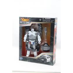 """Робот-трансформер """"X-BOT"""" полицейская машина"""