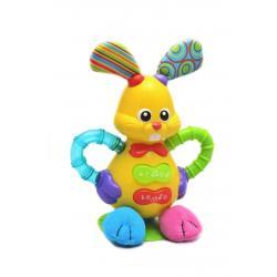 Музыкальная игрушка на присоске Зайка , WinFun