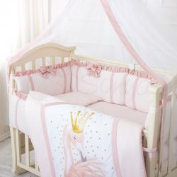 Комплект постельного белья Flamingo пудра