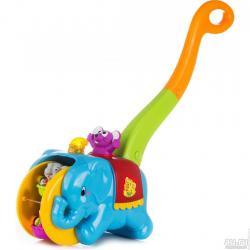 Игрушка- каталка Слон Циркач , Kiddieland