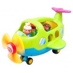 Музыкальная развивающая игрушка Самолет путешественник, Kiddieland