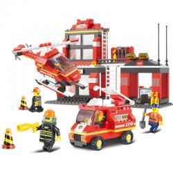 Конструктор Пожарные спасатели ,Sluban M38-B0225