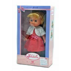 Кукла Изабелла, 30 см в розовом платье и белом болеро