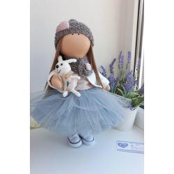 """Интерьерная текстильная кукла """"Марианна"""""""