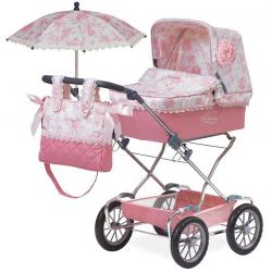 Классическая коляска для кукол Reborn Daniela, DeCuevas