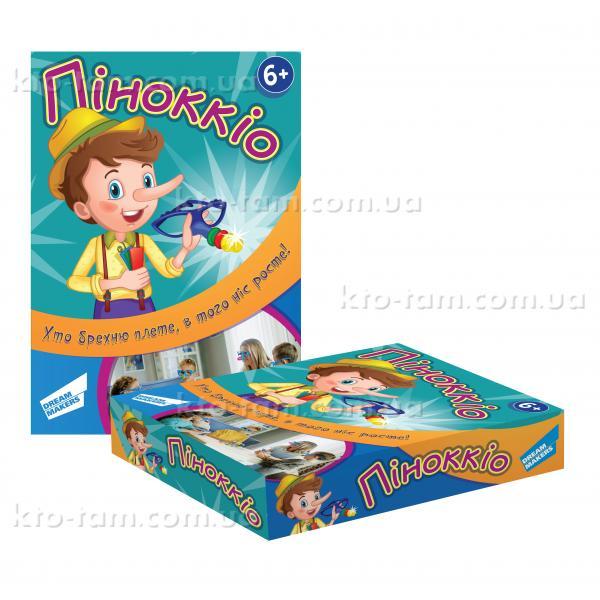 """Игра детская настольная """"Пиноккио"""", Dream Makers"""