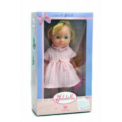 Лялька Ізабелла, 30 см в рожевій сукні