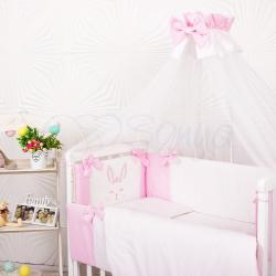 """Комплект постельного белья Smile розовый """"Маленькая Соня"""""""