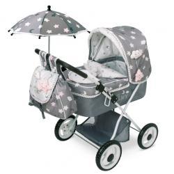 Классическая коляска для кукол Sky line, DeCuevas
