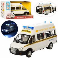 Маршрутное такси Автопарк свет, звук, открываются двери