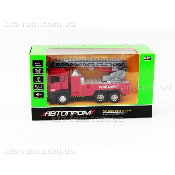 Пожарная машина Автопром , подвижные детали, звуковые эффекты.