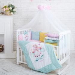 Комплект постельного белья Akvarel Единорог