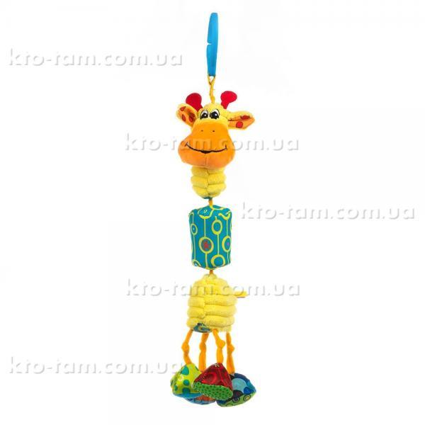 Игрушка-подвеска Жираф Гарри с колокольчиком, Balibazoo