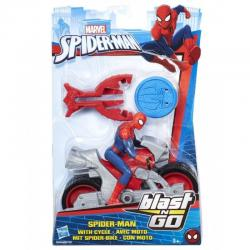Фигурка человека-паука на транспортном средстве, Spider-Man Hasbro