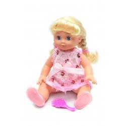 Кукла Изабелла, 35 см в розовом платье