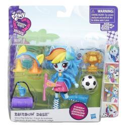 Мини-кукла Equestria Girls с аксессуарами, Rainbow Dash