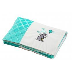 Мягкое одеяльце Minky patchwork , BabyOno
