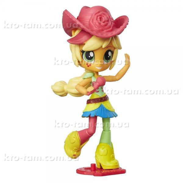 Мини-кукла Equestria Girls Applejack, Hasbro