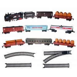 Железная дорога с 9 вагонами, Big Motors
