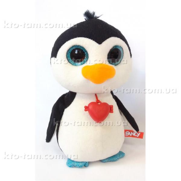 Глазастик Пингвин с сердечком , Fancy