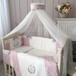 """Комплект постельного белья De Lux пыльная роза, """"Маленькая Соня"""""""