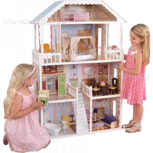 Деревянный кукольный домик Savannah ,KidKraft