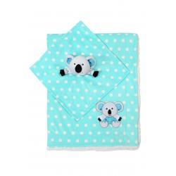 Одеяльце двухстороннее Minky - коала с первой обнимашкой, BabyOno