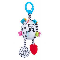 "Игрушка-подвеска ""Развивающий шар"" с прорезывателем , Balibazoo"