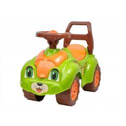 Каталка Автомобиль для прогулок ТехноК, зеленый