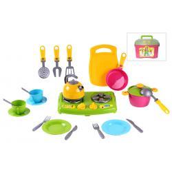 Набор игрушечной посуды с плитой , №8 Технок
