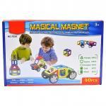 Магнитный конструктор, 40 деталей, Qunxing Toys