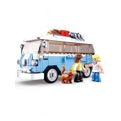 Конструктор машинка Model, Фургон з фігурками, Sluban