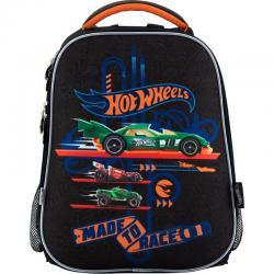 Рюкзак школьный каркасный 531 Hot Wheels, KITE