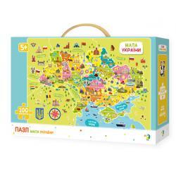 Пазлы Карта Украины, DoDo